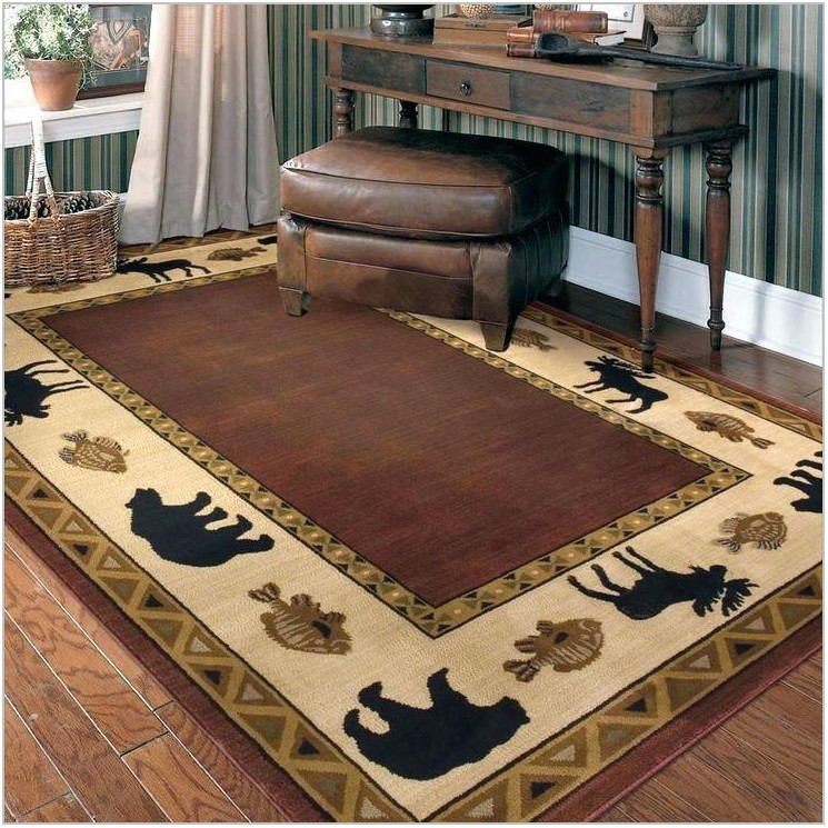 Rustic Area Rugs For Dining Room