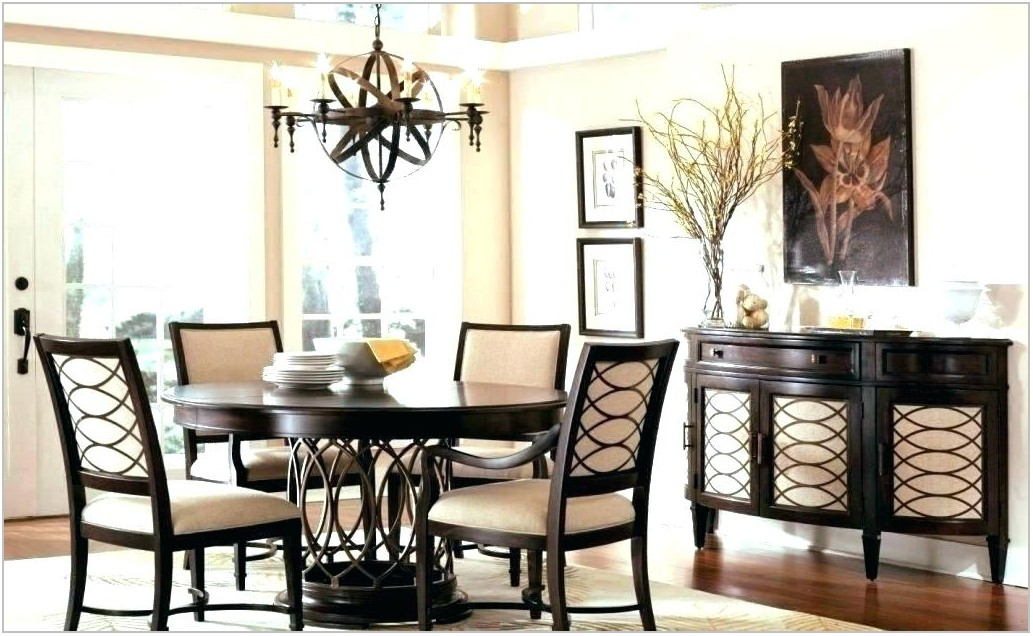 Rustic Dining Room Table Light