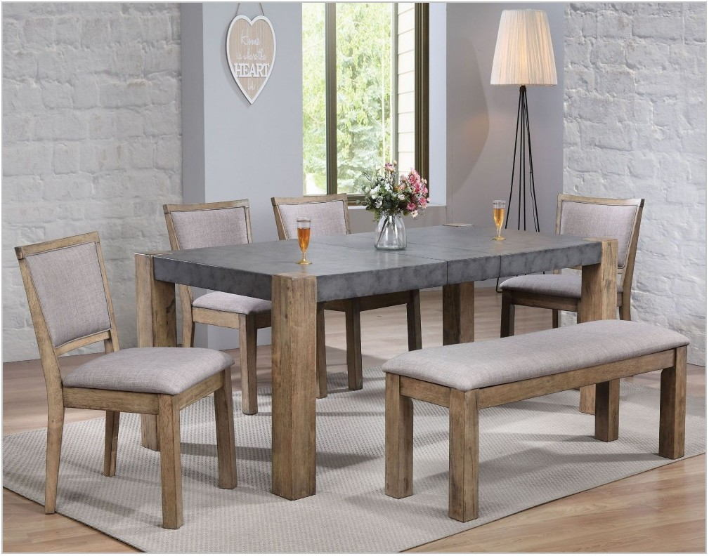 Rustic Gray Dining Room Set