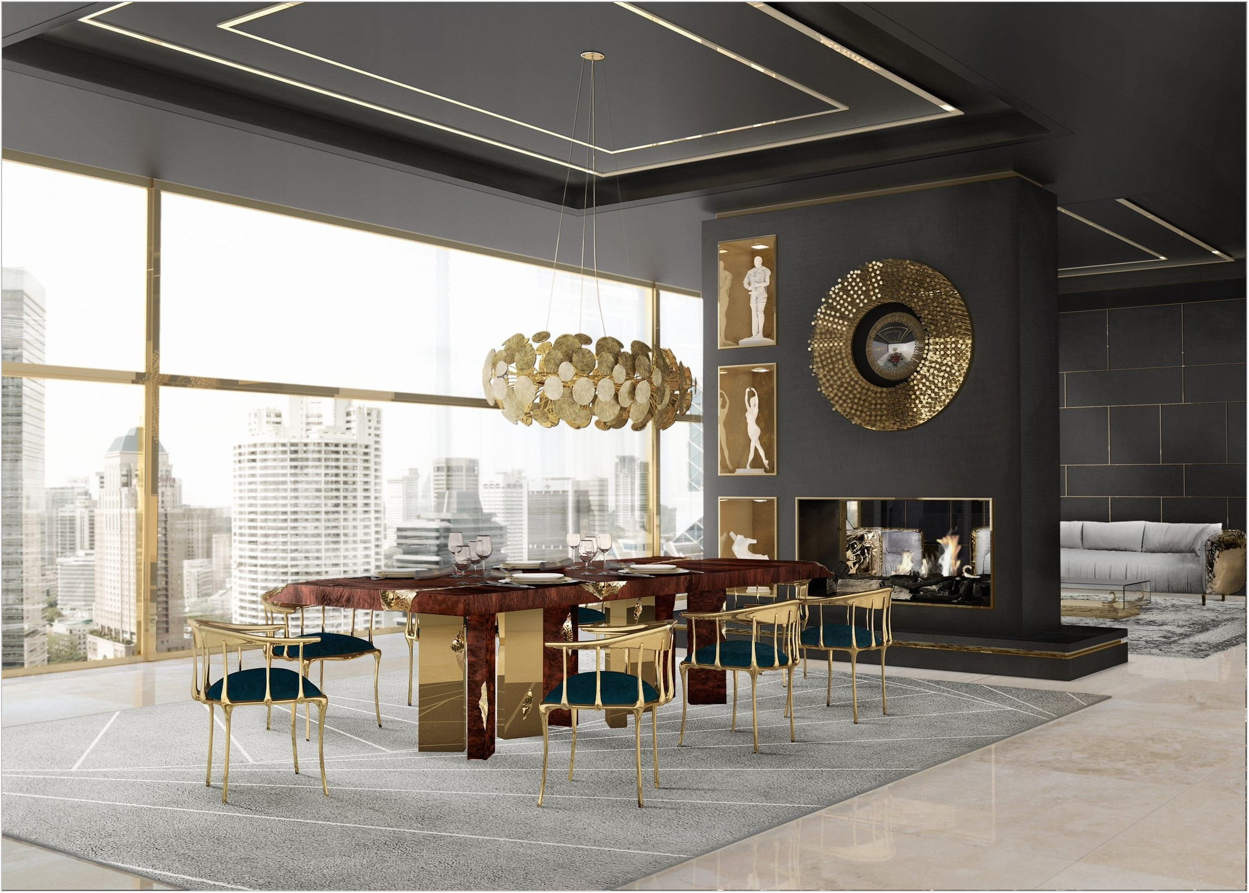 Sample Dining Room Design