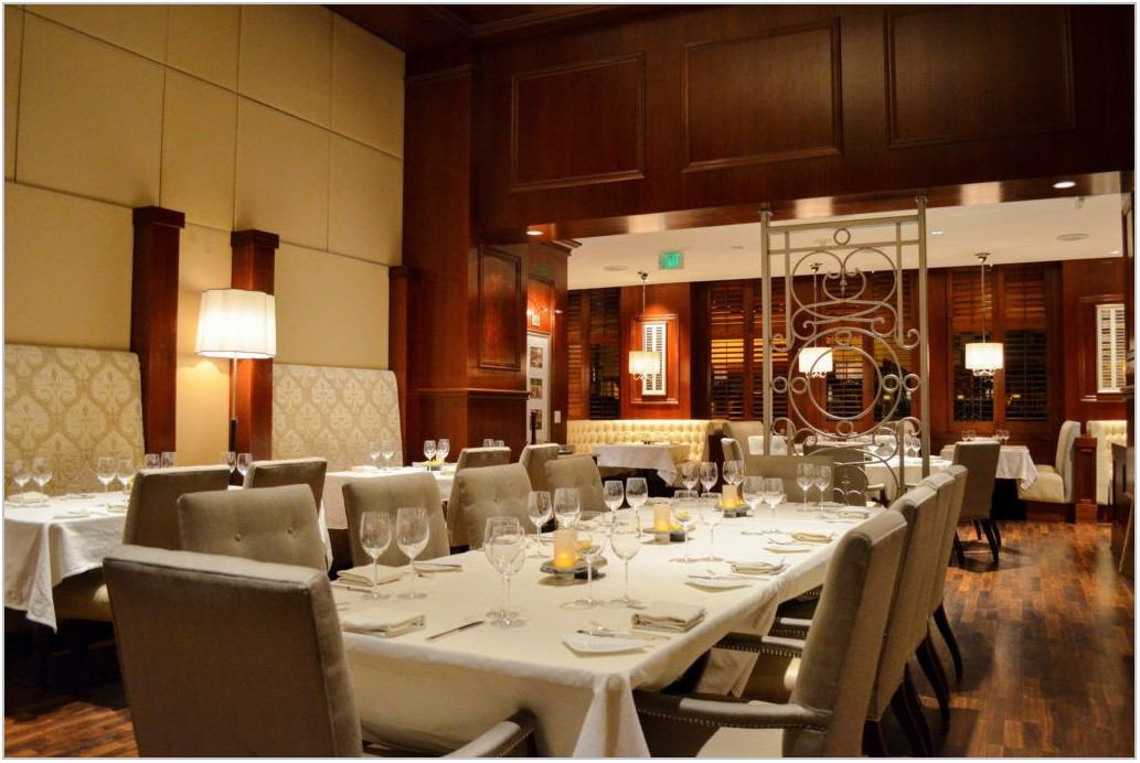 San Diego Restaurants With Private Dining Rooms