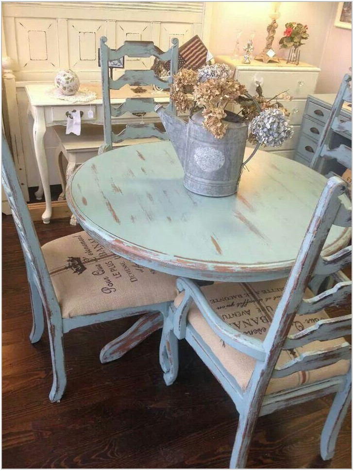 Shabby Chic Dining Room Furniture