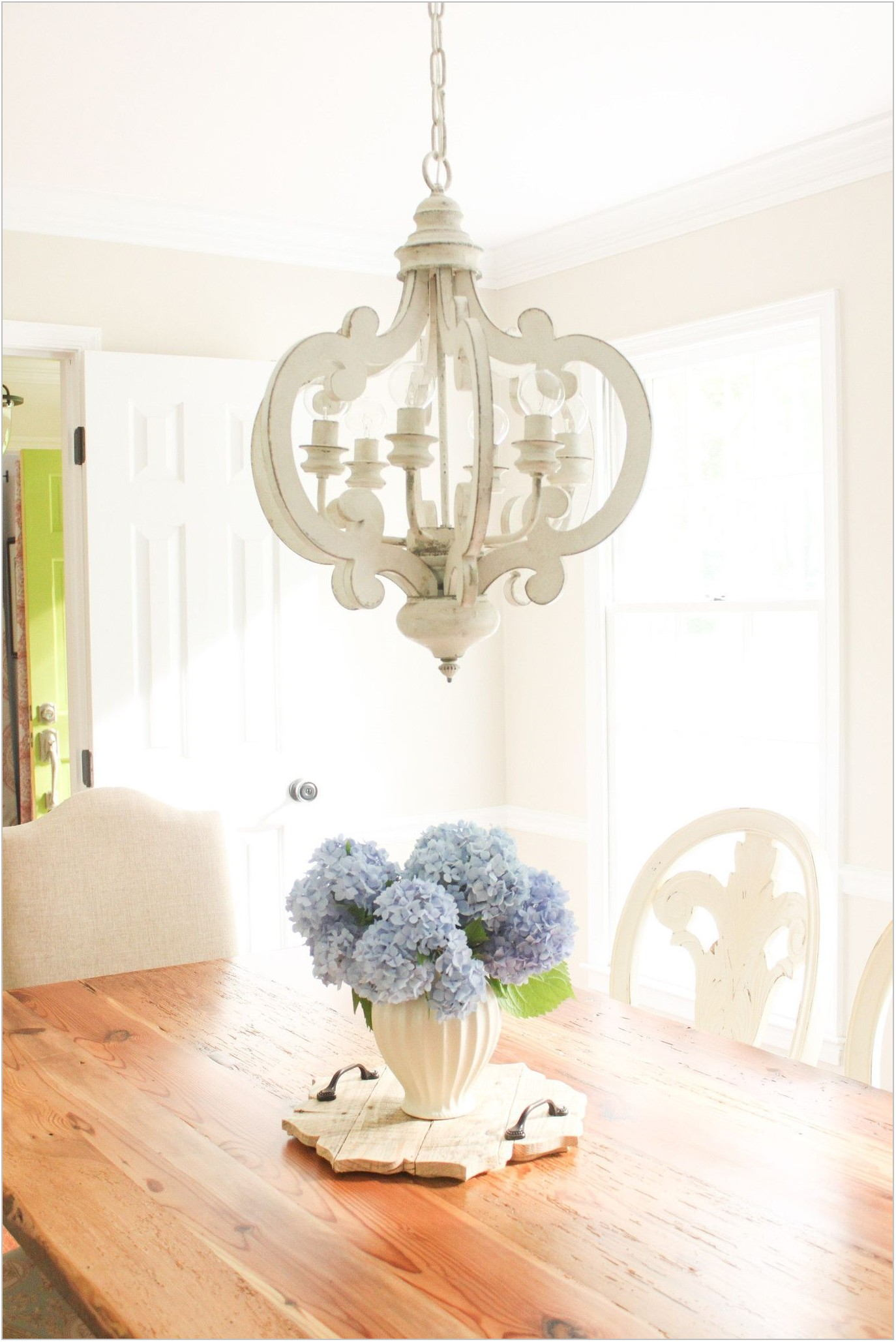 Shabby Chic Dining Room Light Fixtures