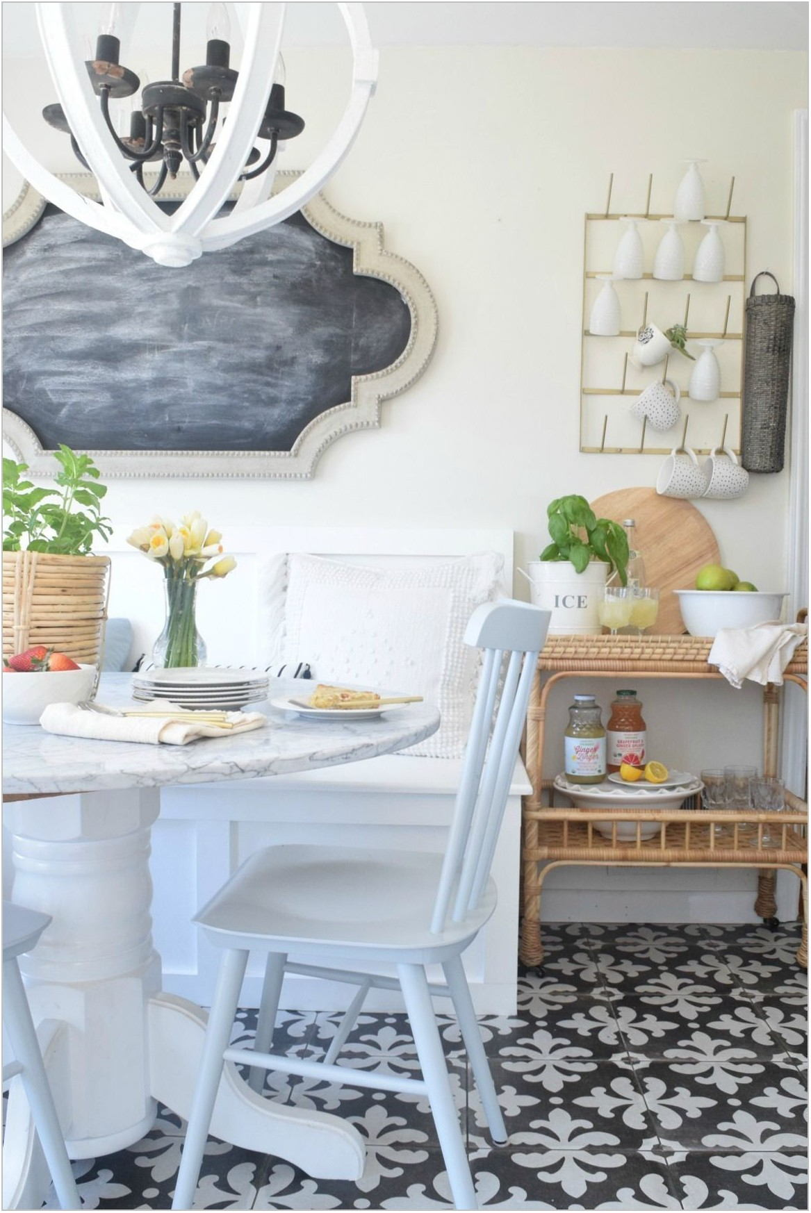Shabby Chic Dining Room Wall Decor