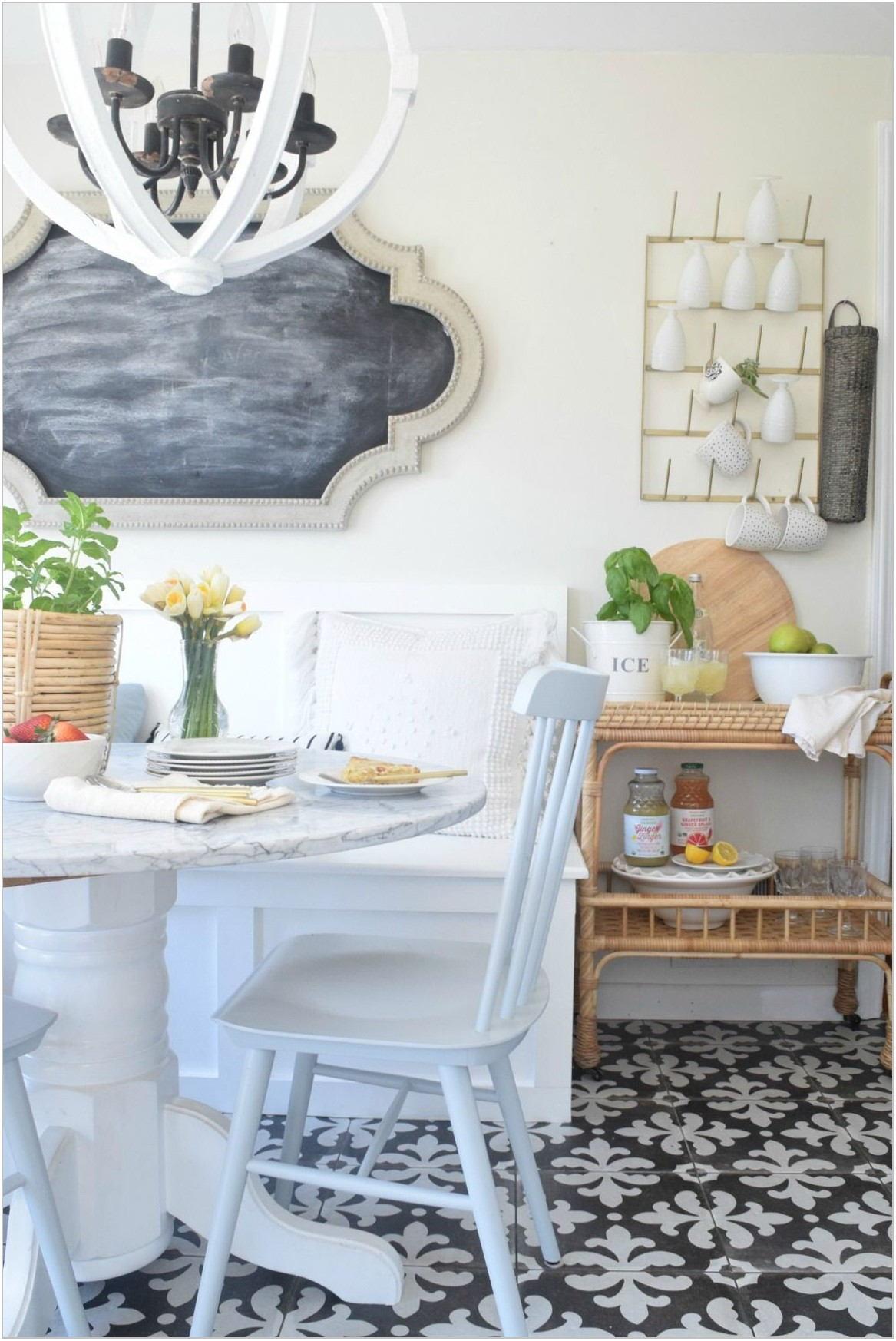 Shabby Chic Dining Room Wall Decor