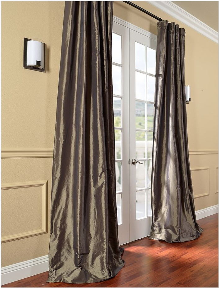 Silk Curtains For Dining Room