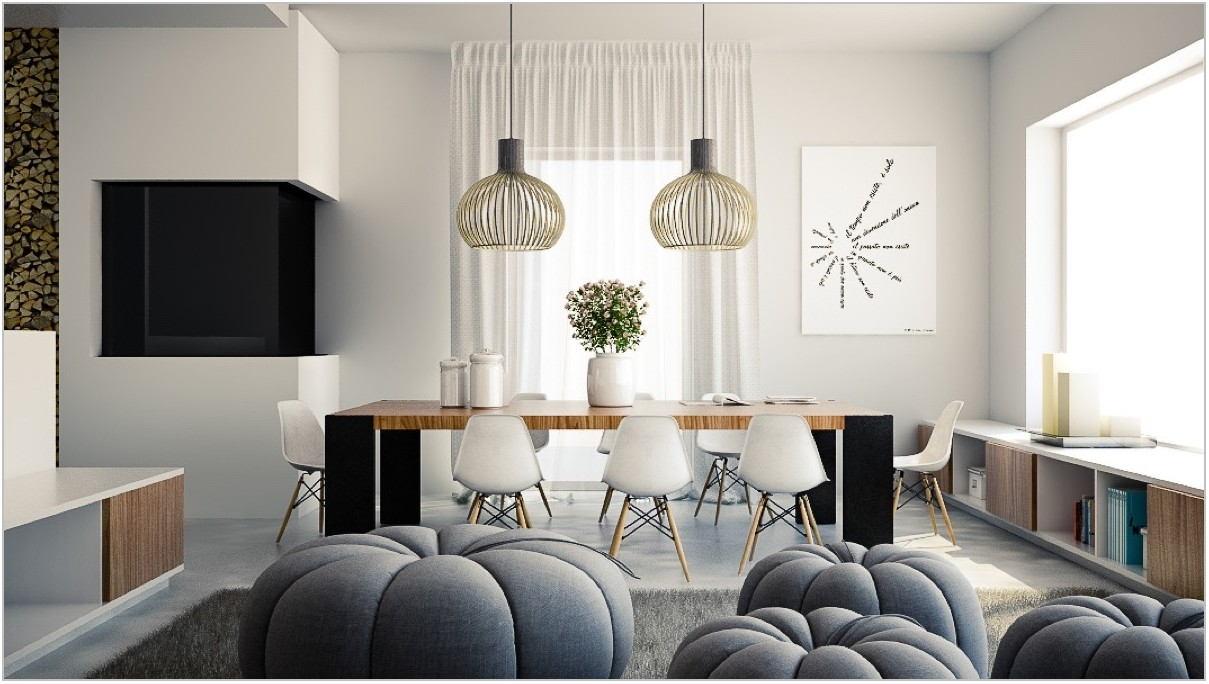 Simple Dining Room Lighting