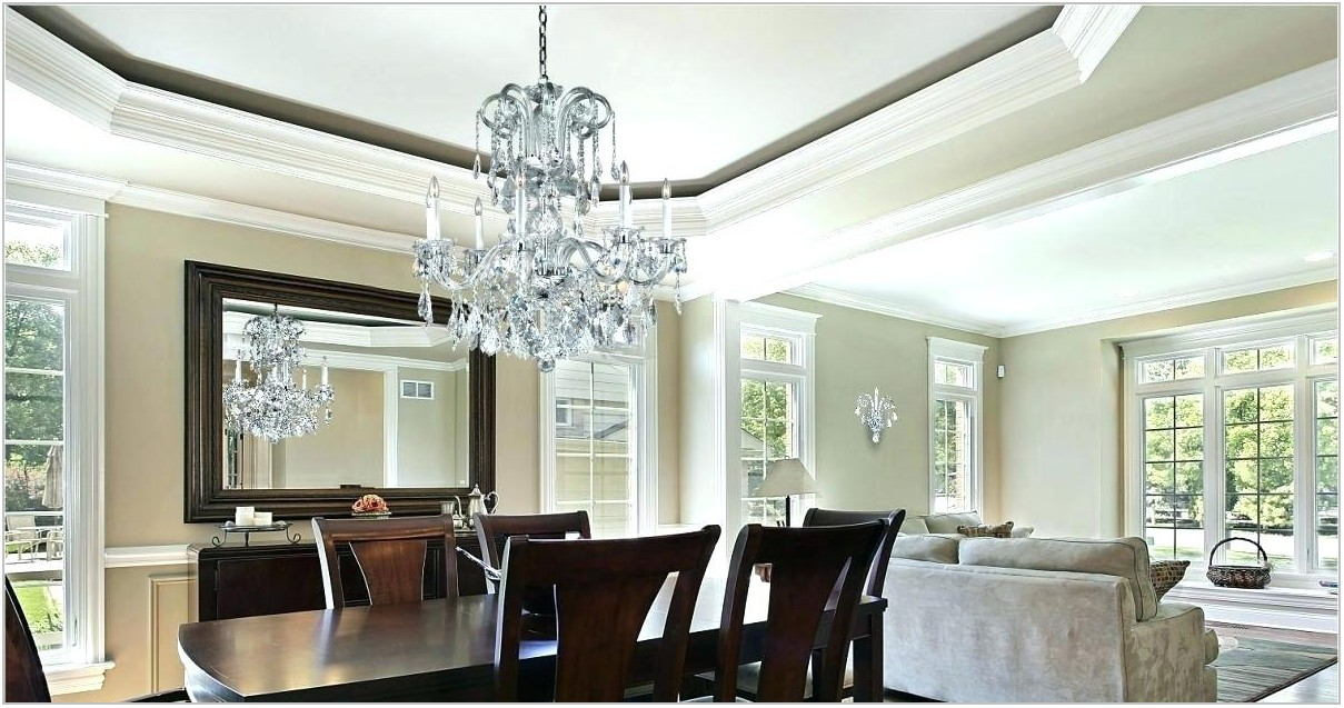 Size Of Chandelier Over Dining Room Table