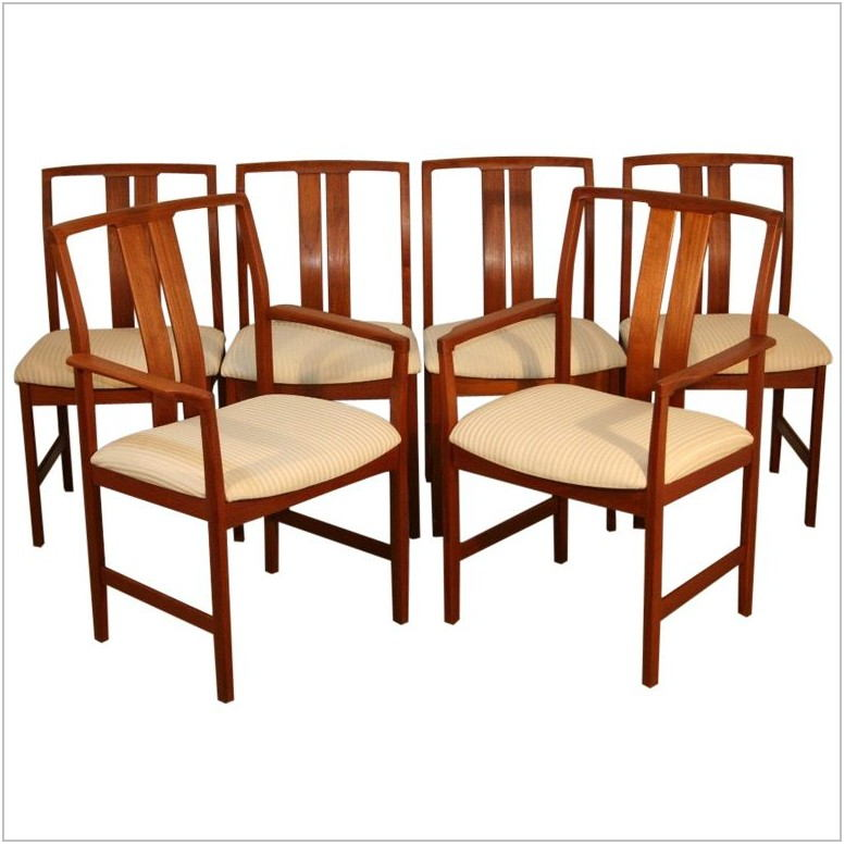 Slat Back Dining Room Chairs