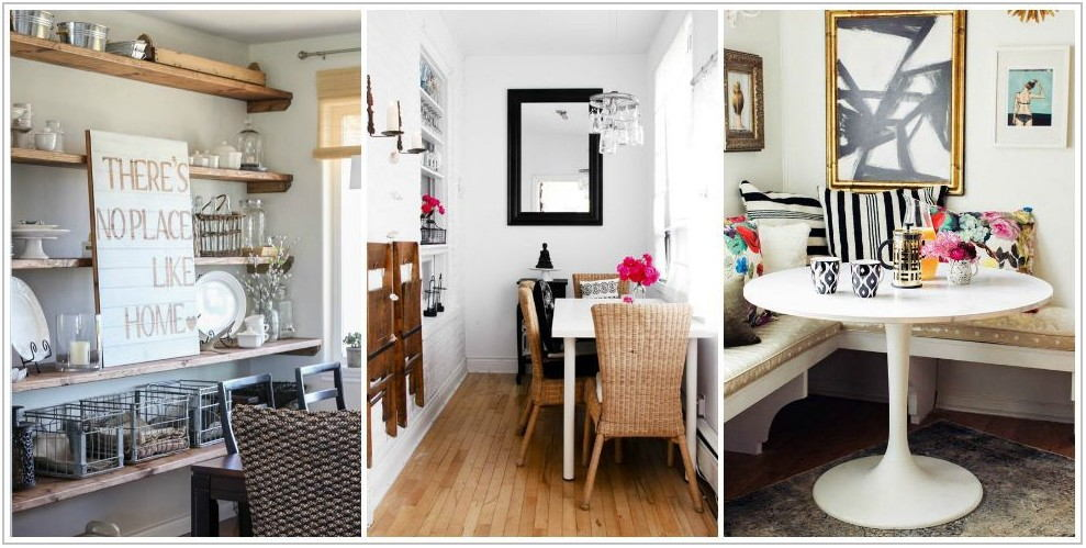 Small Dining Room Solutions