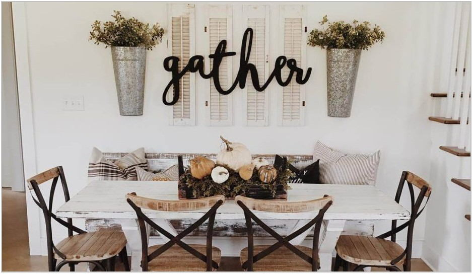 Small Farmhouse Dining Room Table