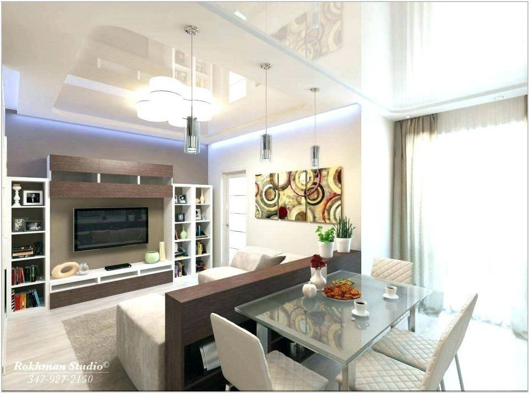 Small Living Room Dining Room Combination
