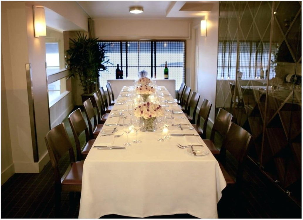 Small Private Dining Rooms San Francisco