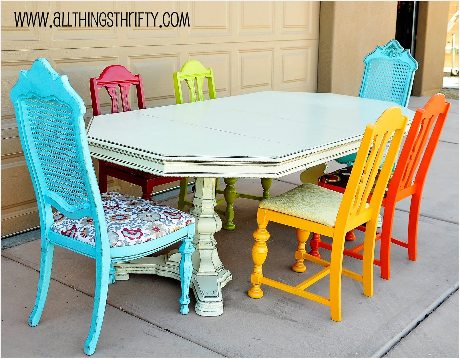 Spray Painting Dining Room Chairs