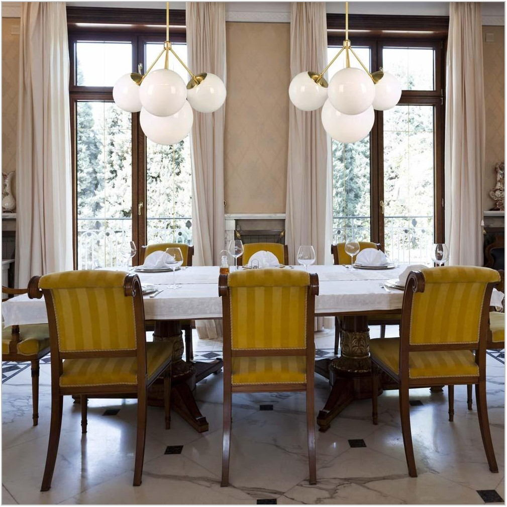 Square Dining Room Chandelier