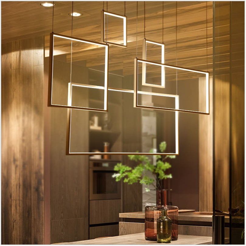 Square Dining Room Light