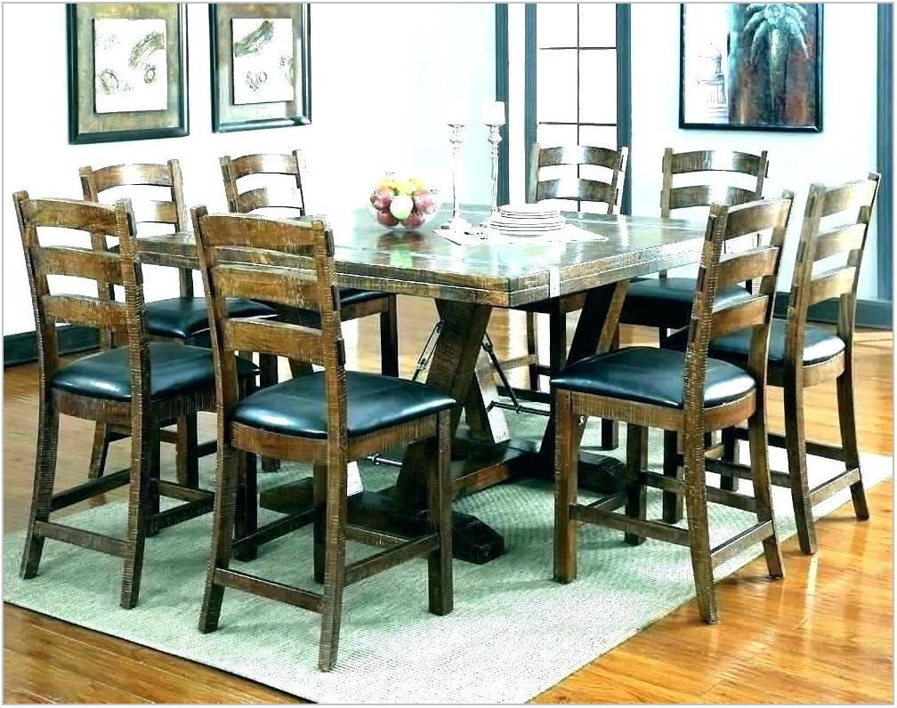 Square Dining Room Table Seats 8