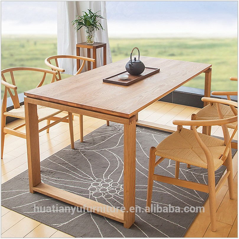 Square Wood Dining Room Table