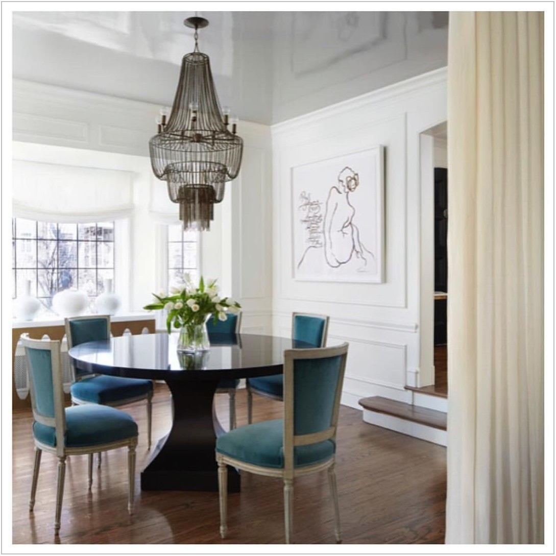 Statement Dining Room Chairs