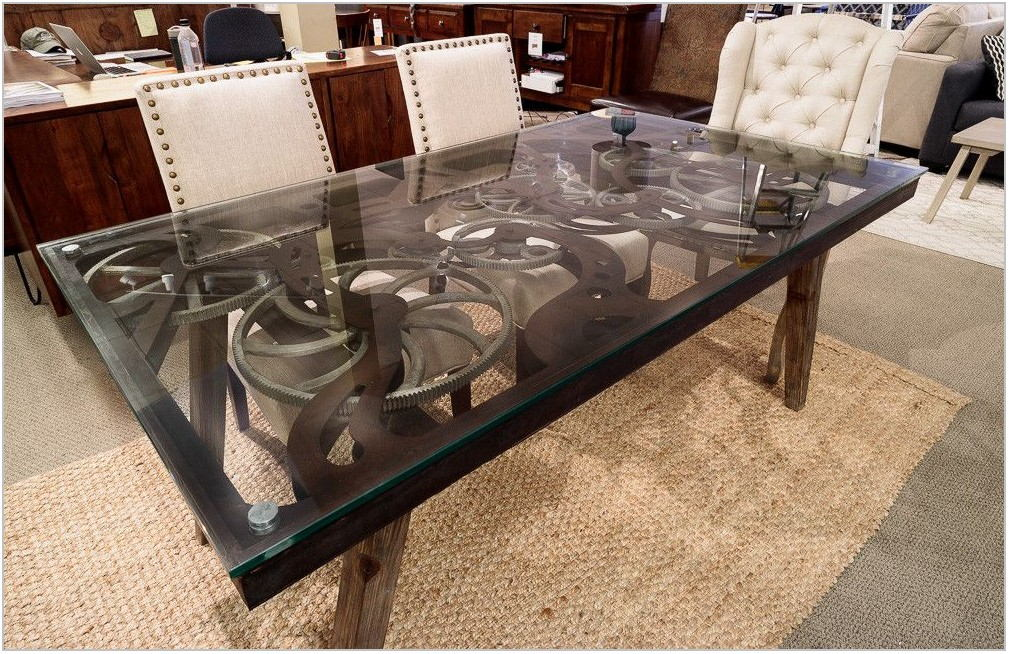 Steampunk Dining Room Table