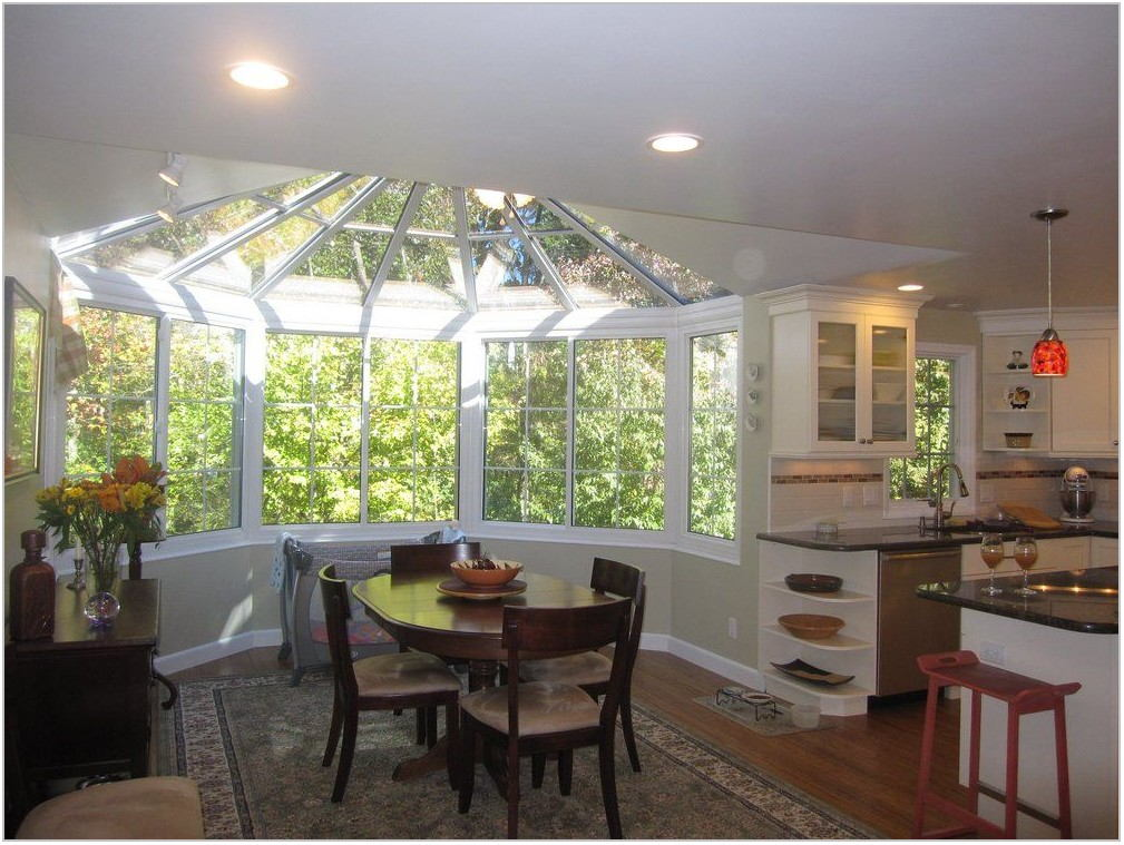 Sunroom Dining Room Addition