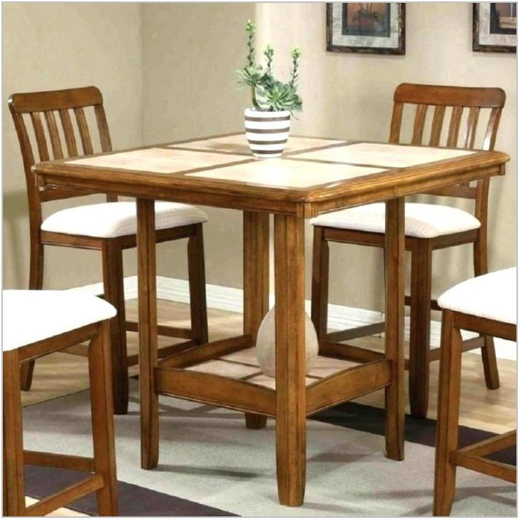 Tall Square Dining Room Table