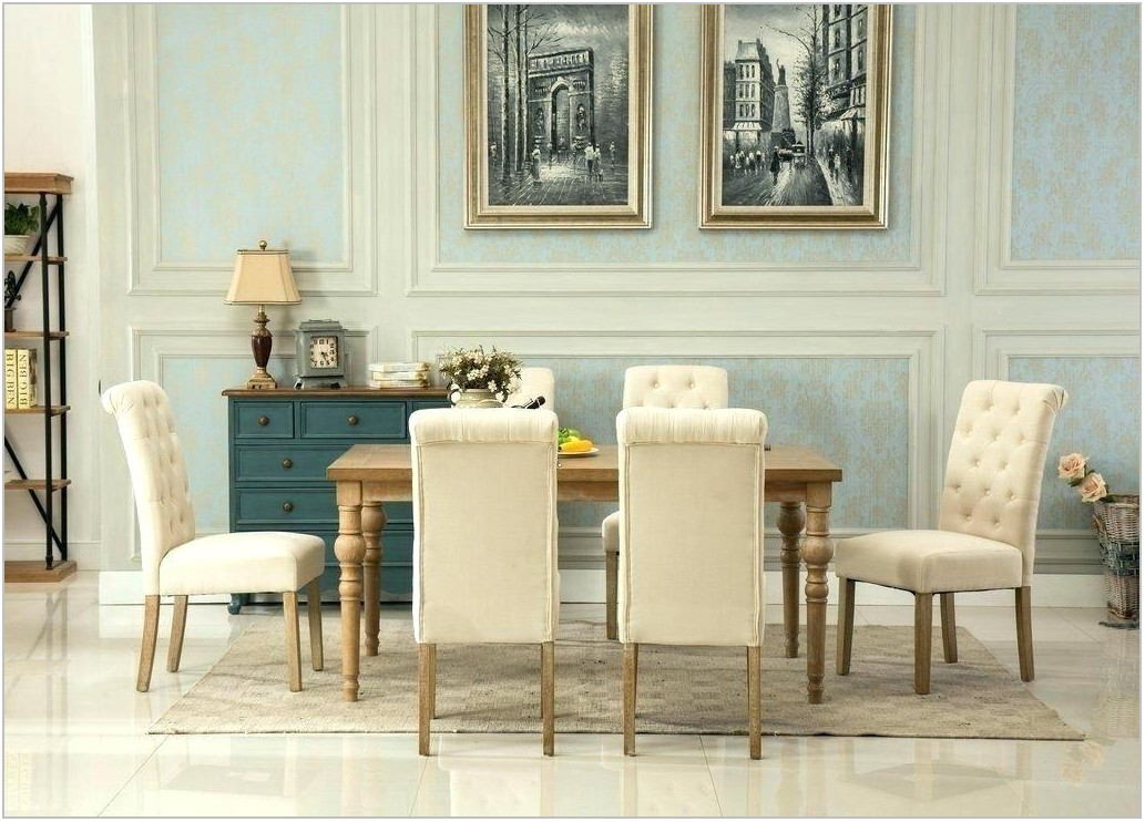 Tan Dining Room Chairs