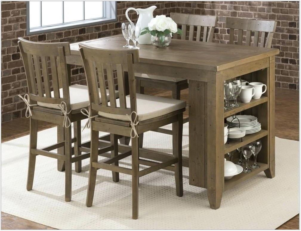 Tanshire Counter Height Dining Room Set