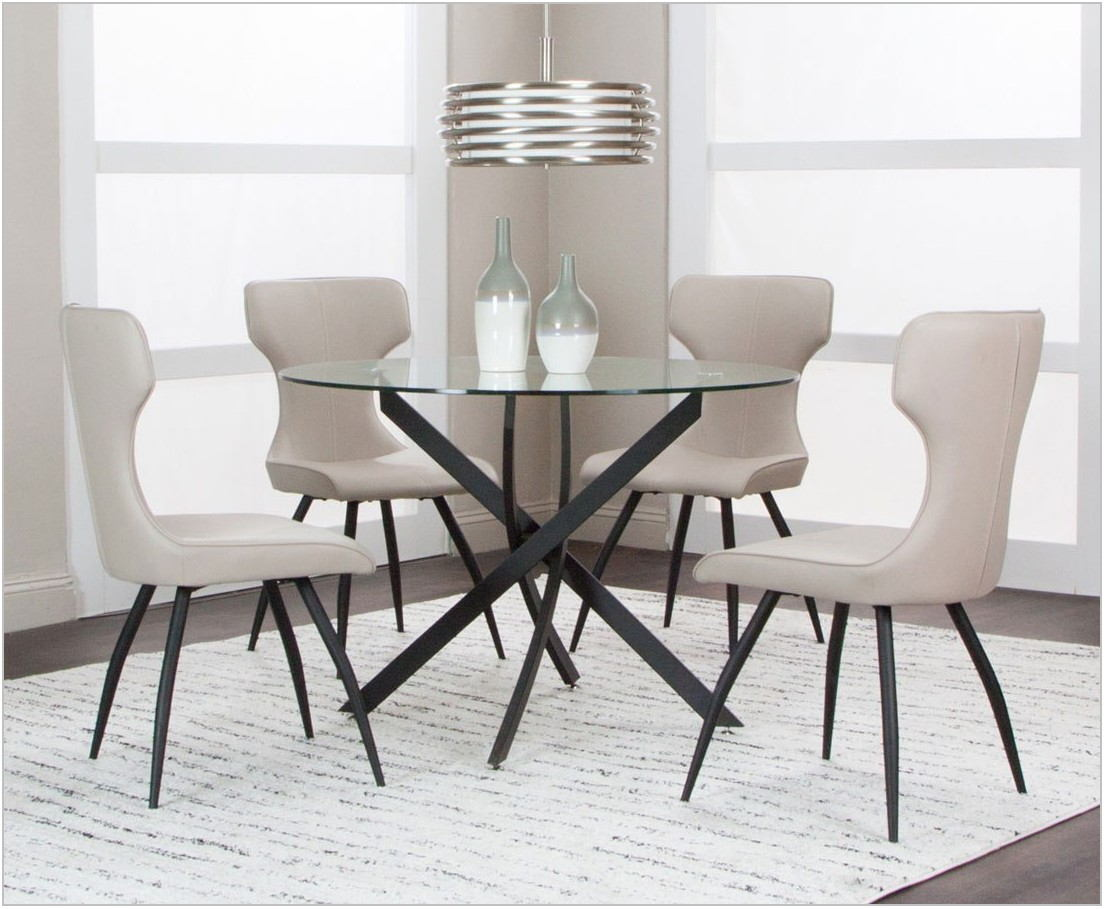 Taupe Dining Room Set