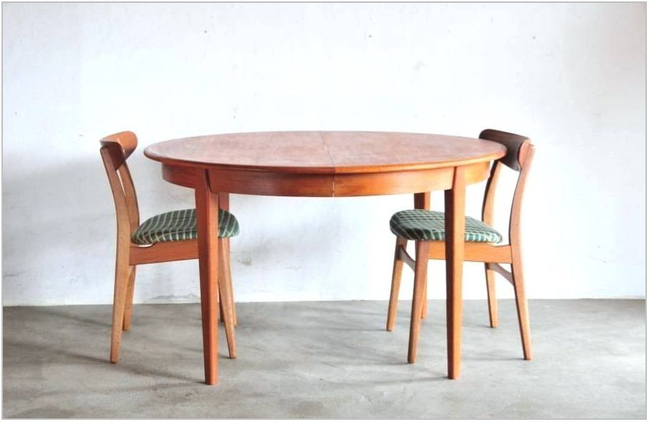 Teak Upholstered Dining Room Chairs