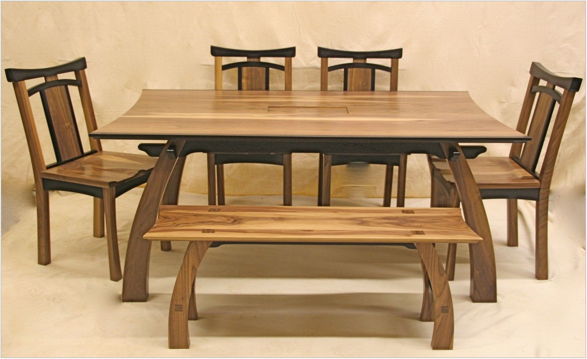 Teak Wood Dining Room Table