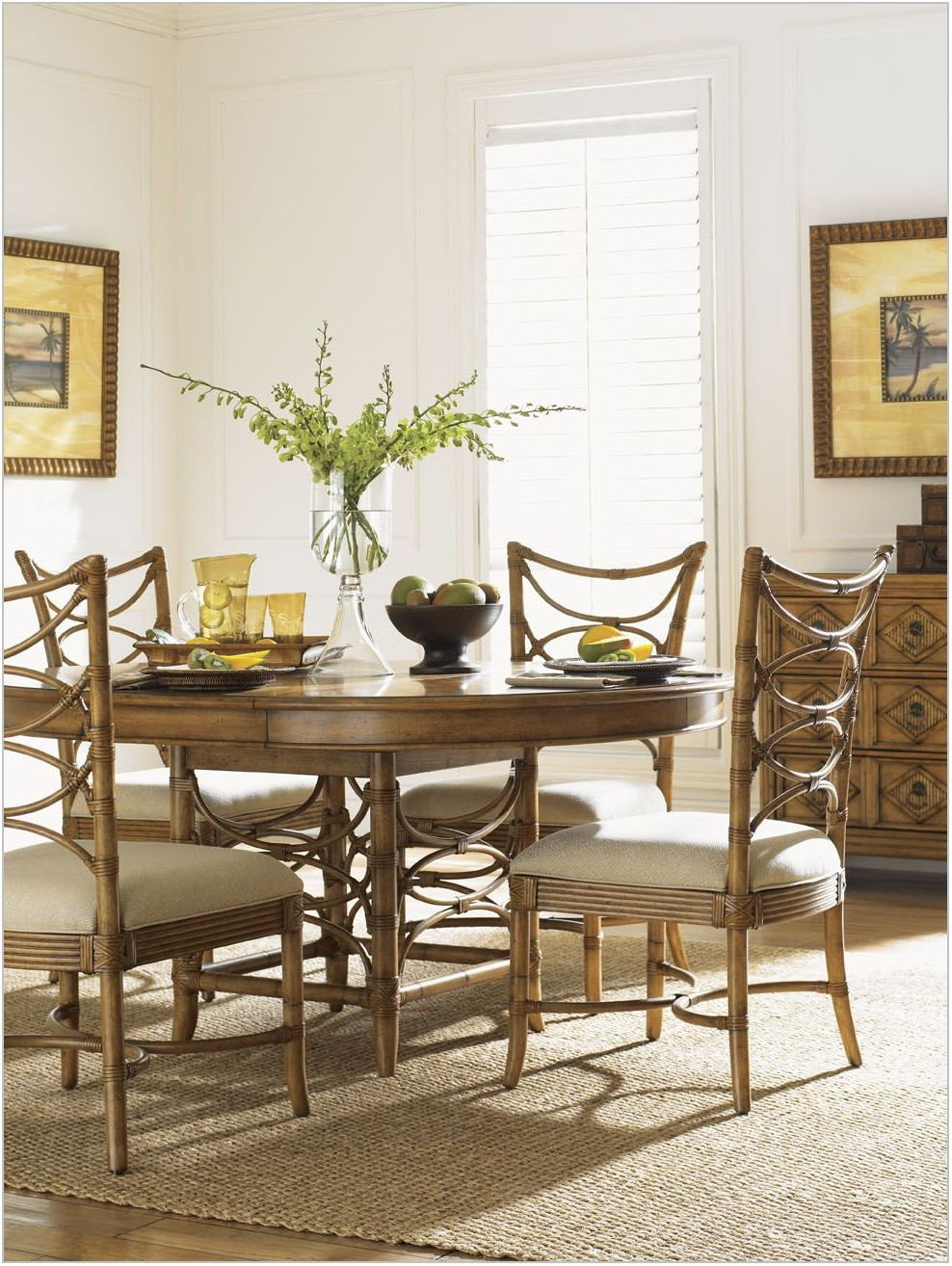 Tommy Bahama Dining Room Table And Chairs