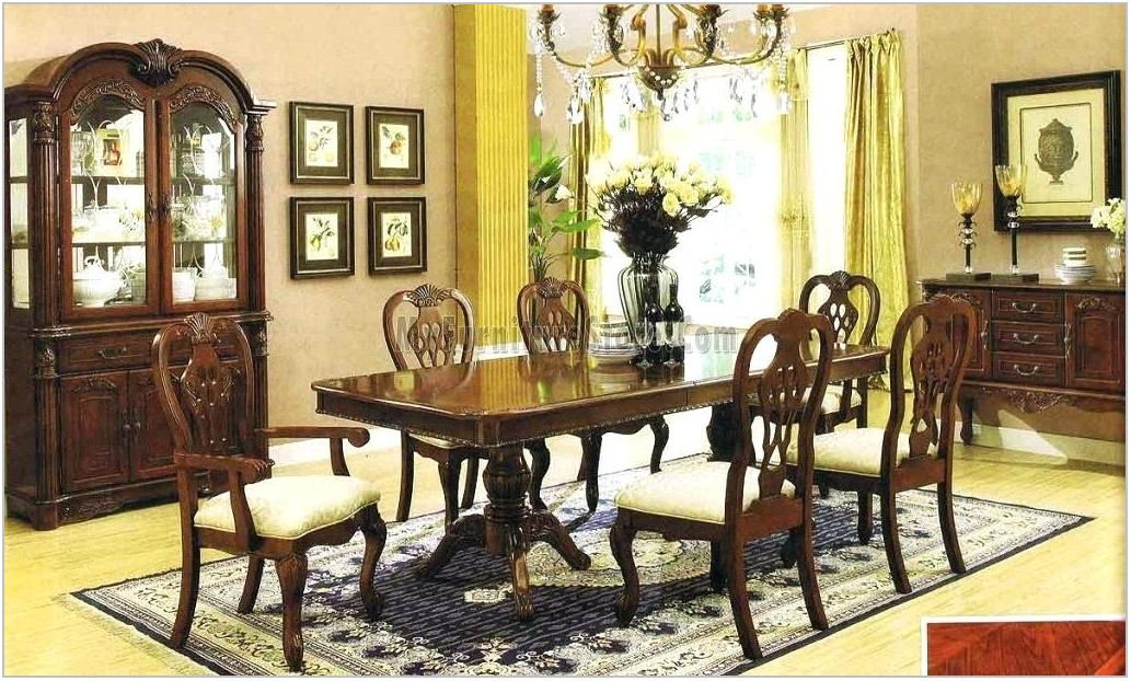 Traditional Dining Room Sets Cherry