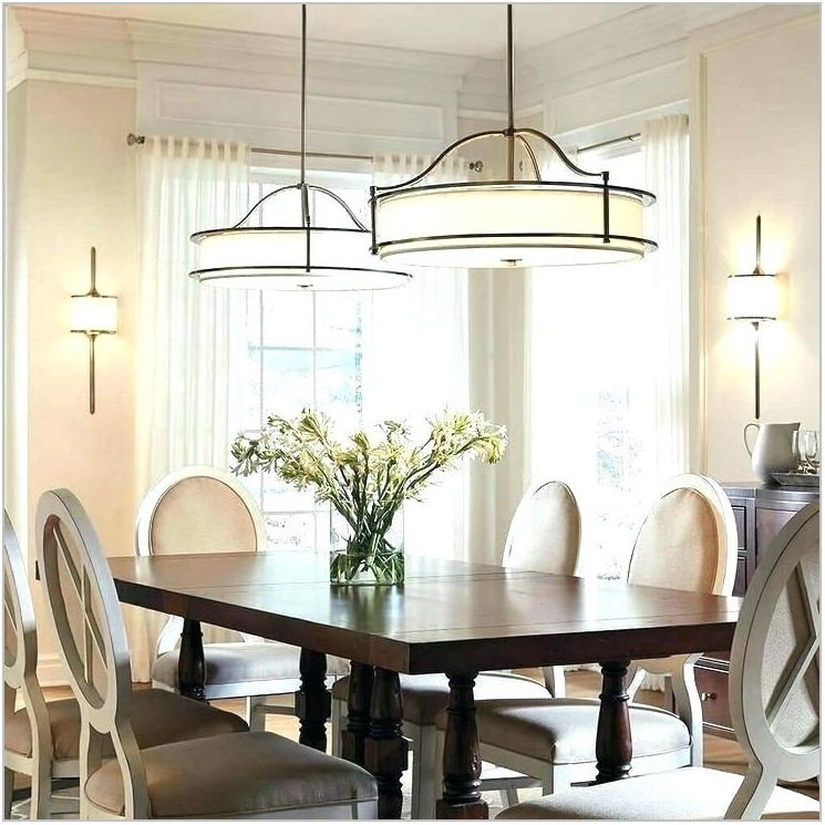 Transitional Style Dining Room Chandeliers