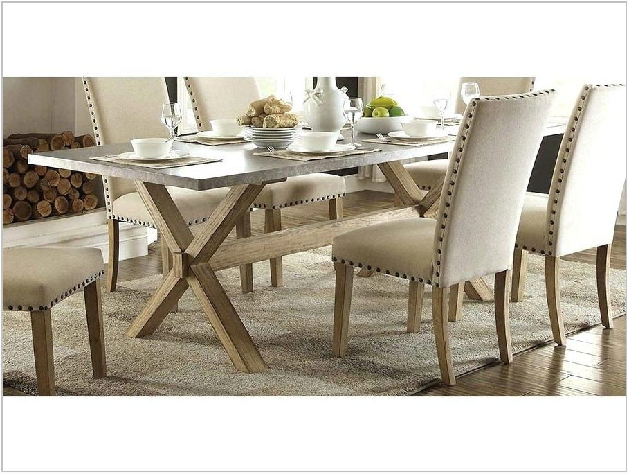 Trestle Dining Room Table Sets