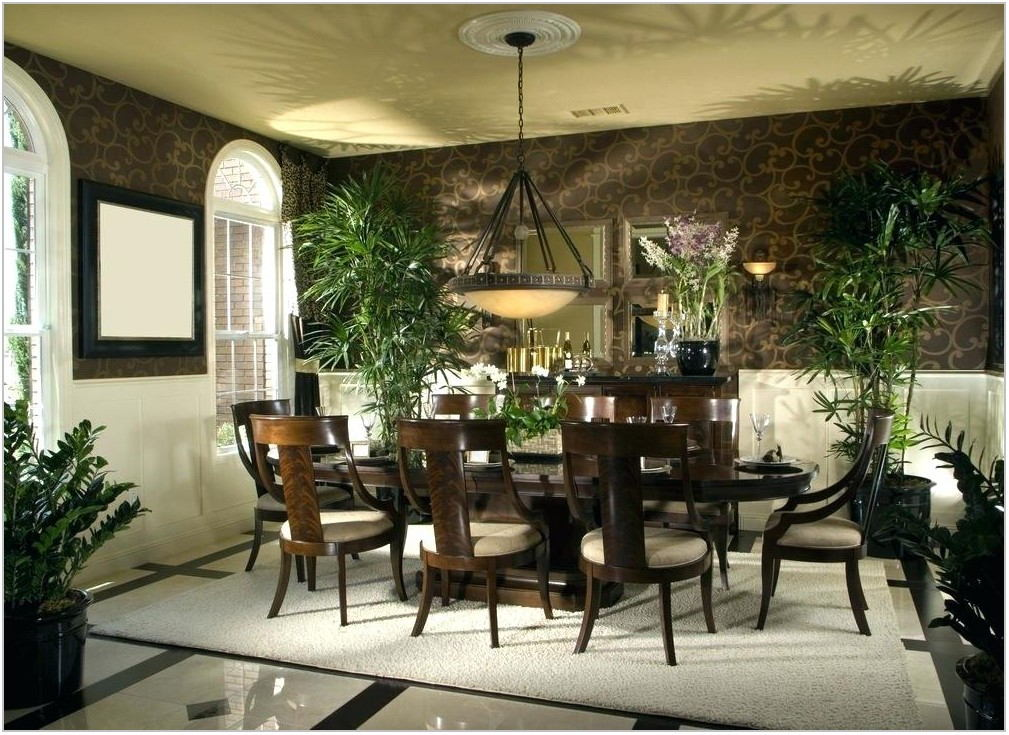 Tropical Dining Room Table Sets