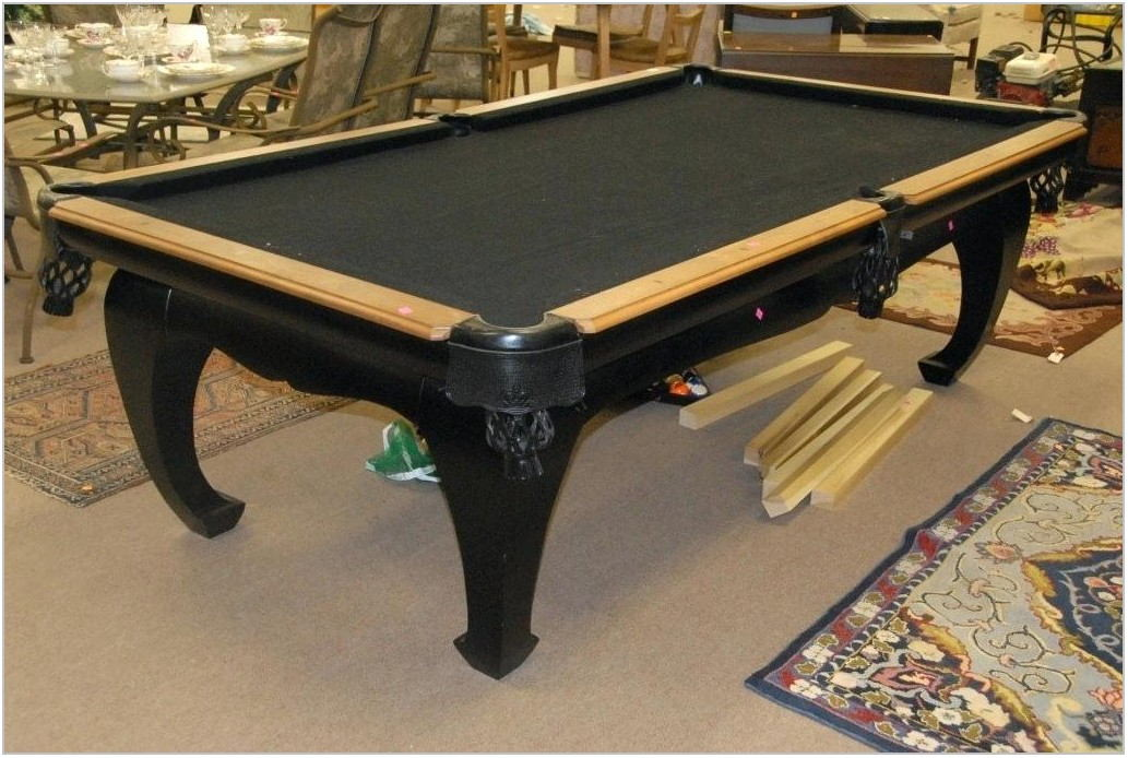 Turn Pool Table Into Dining Room Table