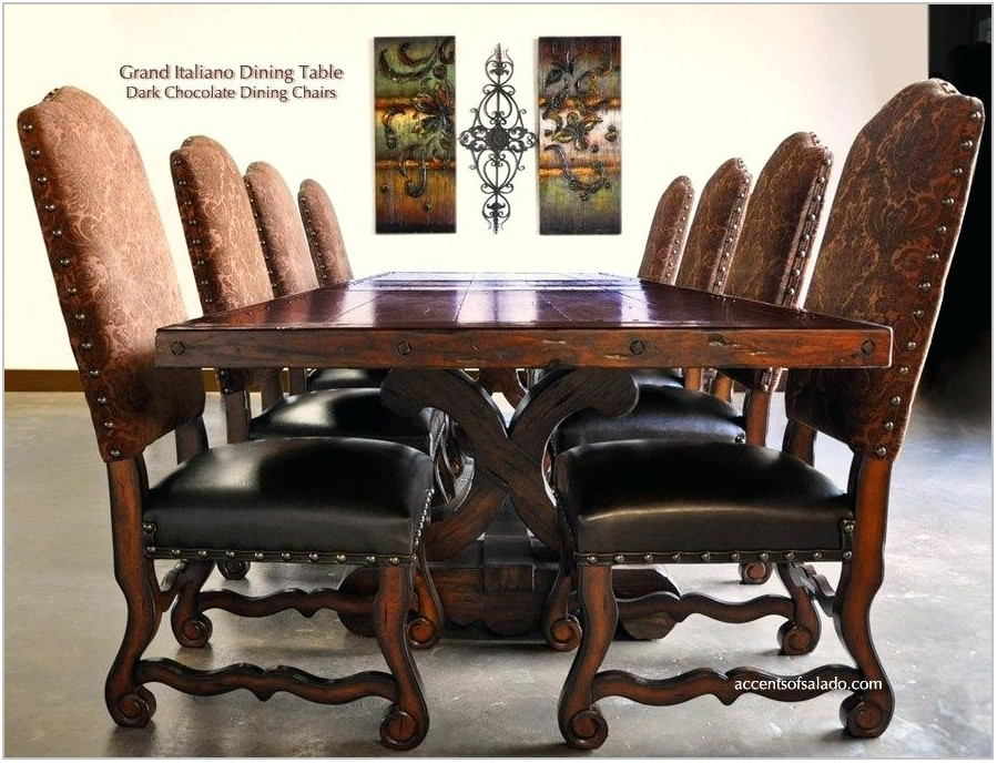 Tuscan Dining Room Sets