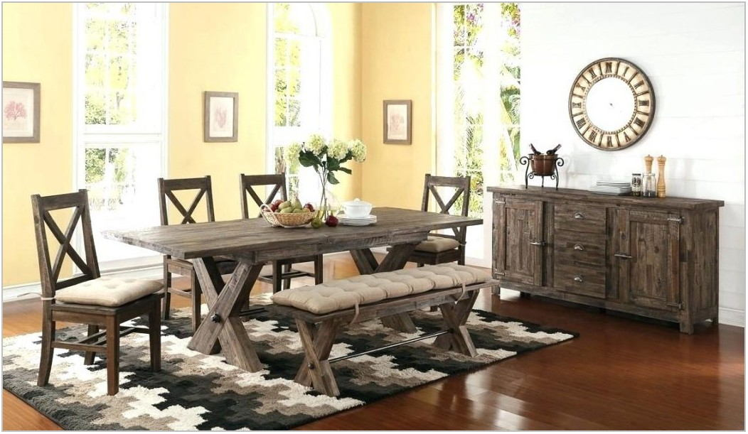 Tuscan Style Dining Room Set