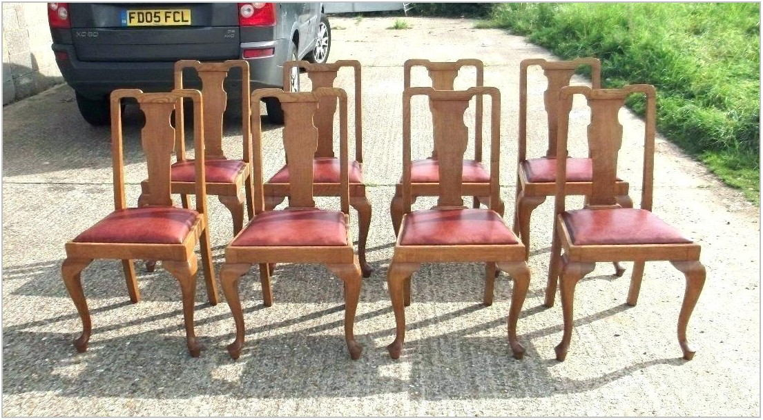 Unfinished Oak Dining Room Chairs