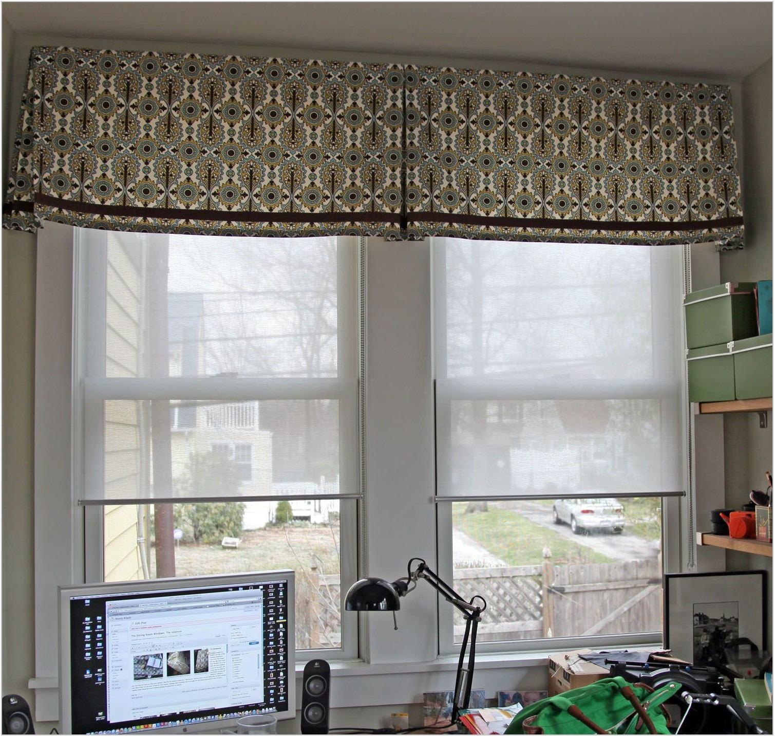 Valances For Dining Room Windows