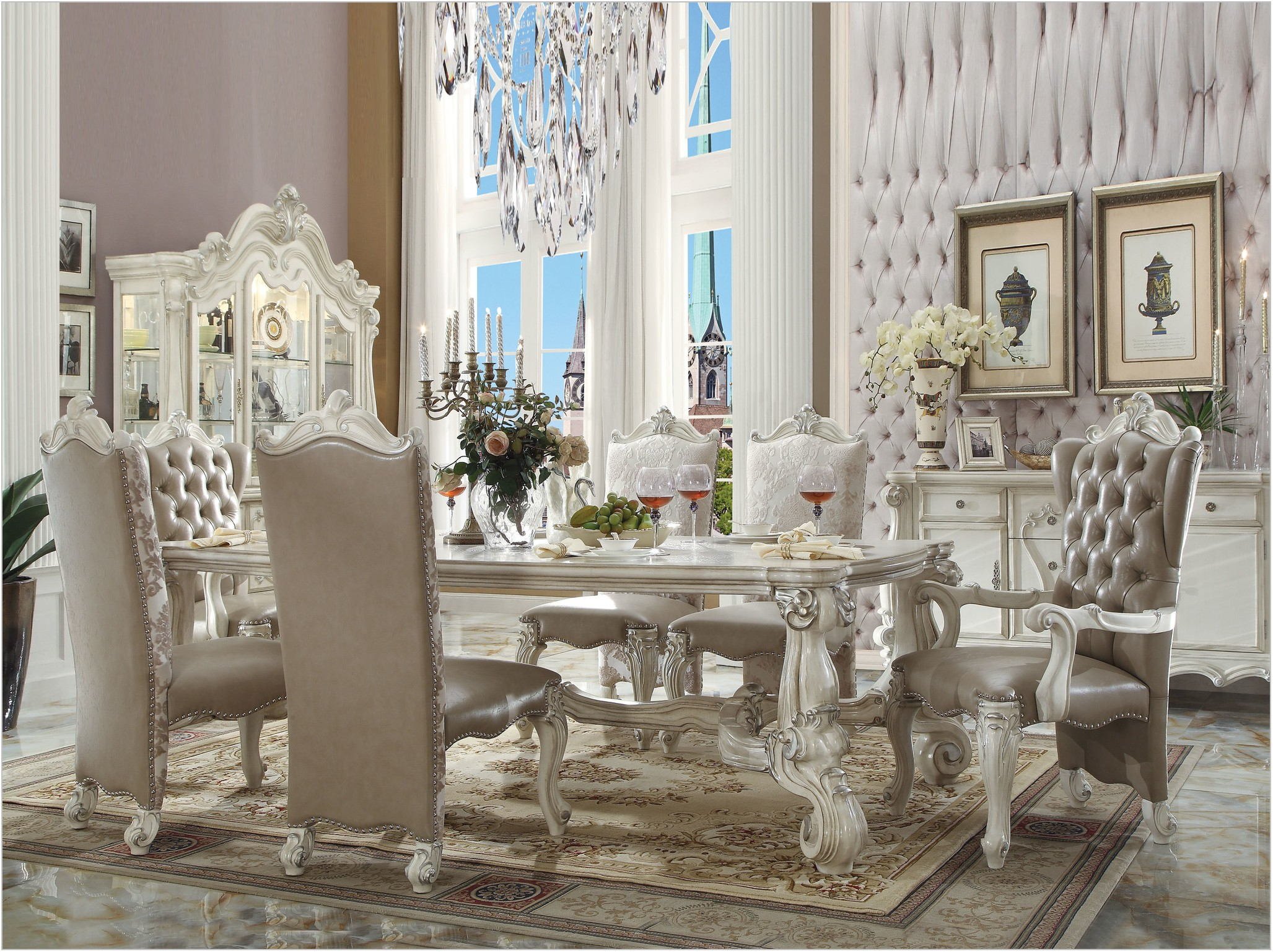 Versailles Dining Room Furniture Collection
