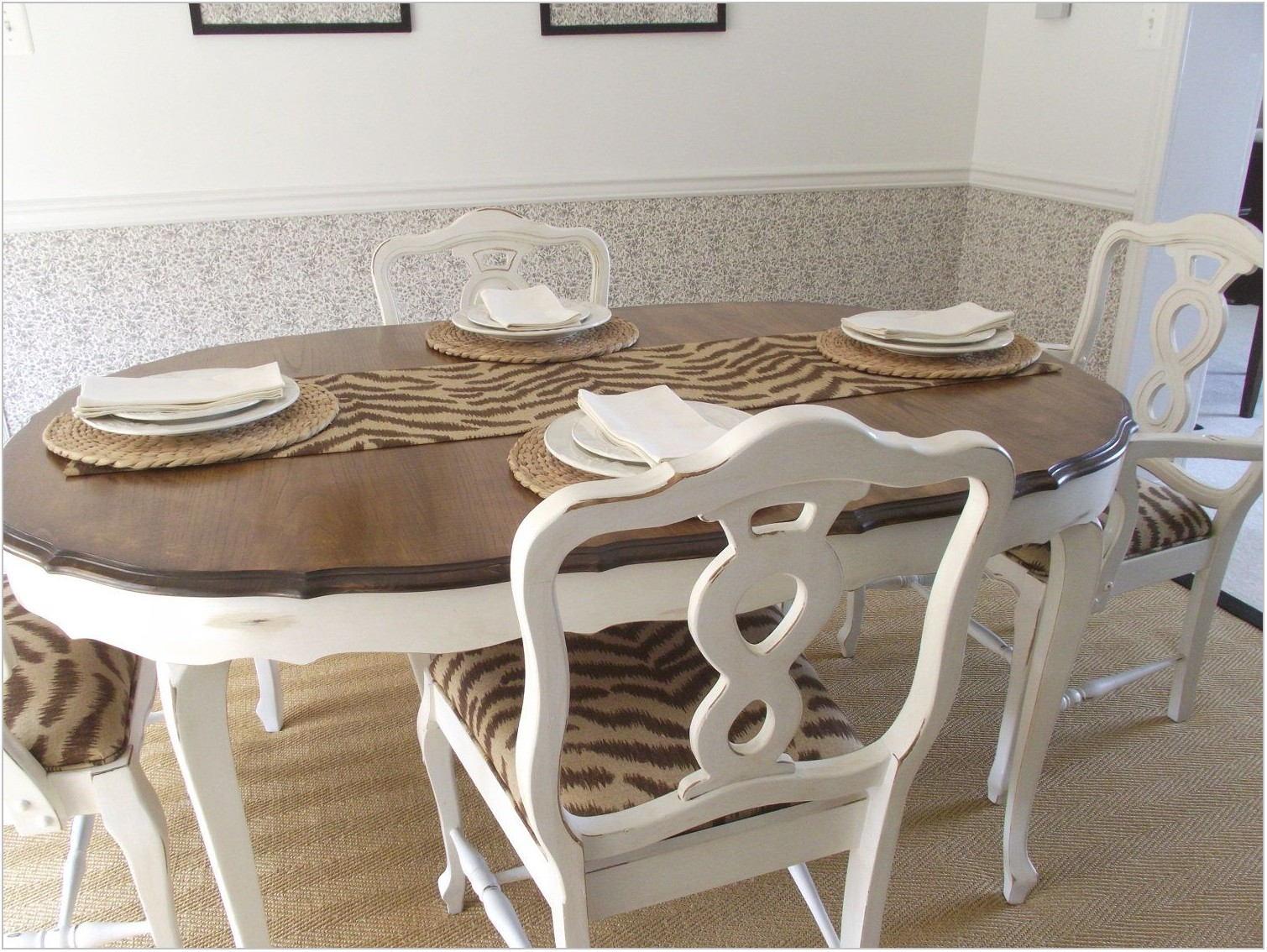 Vintage French Provincial Dining Room Set