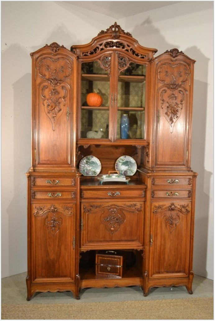 Walnut Dining Room Buffet