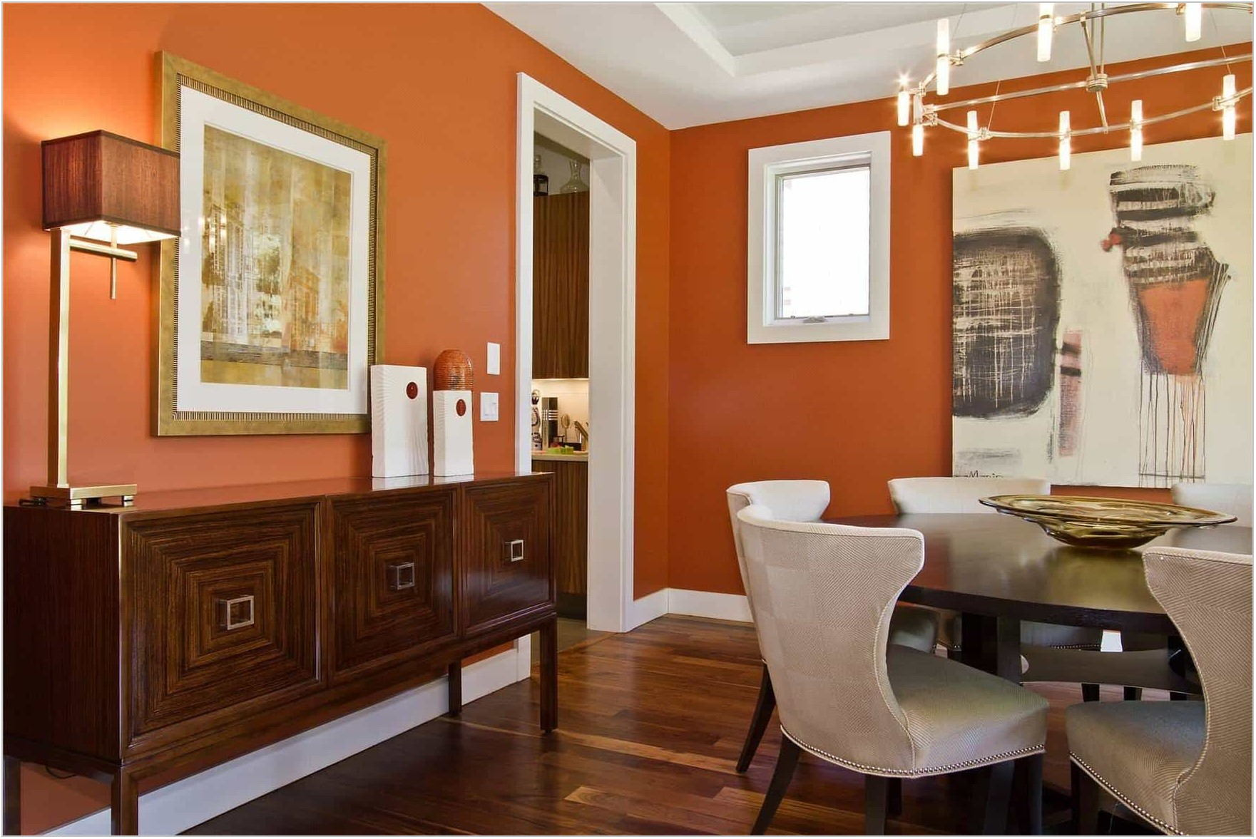Warm Dining Room Colors