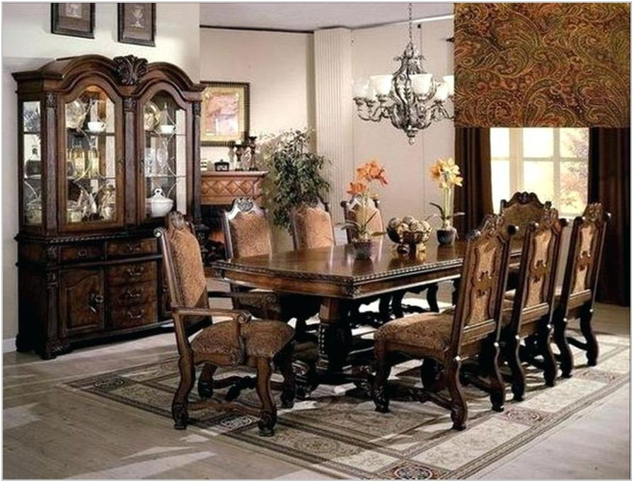 Western Style Dining Room Furniture