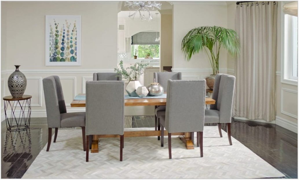 What Kind Of Rug For Dining Room