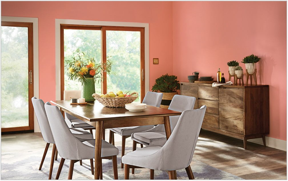 What Paint Finish For Dining Room