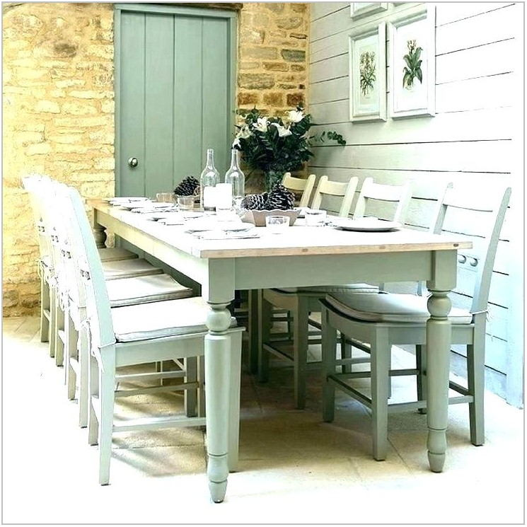 White Country Dining Room Set