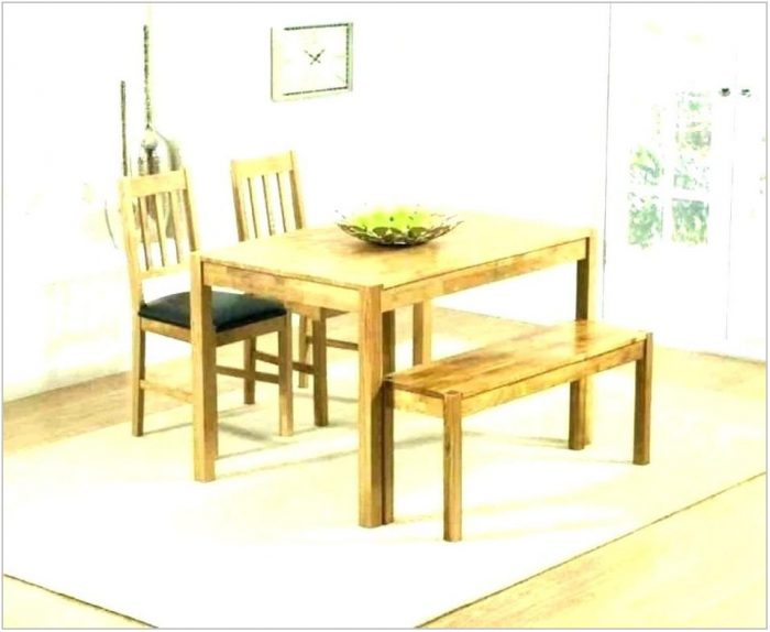 White Dining Room Bench